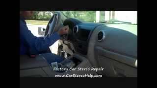 Ford Expedition Stereo Removal 2003-2006