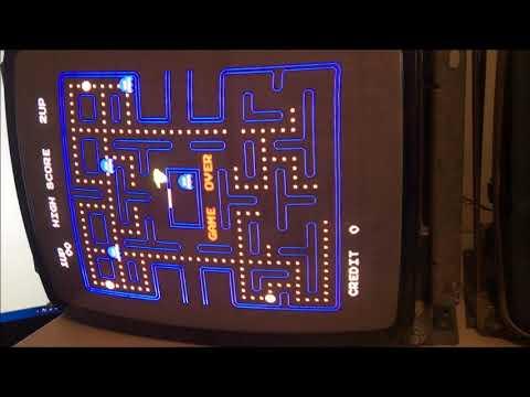 1981 Midway MFG MS Pac-man Arcade PCB Repair