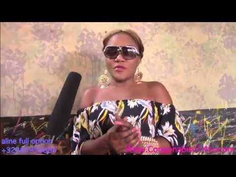 l'artiste comédienne Coquette sassa à repondre naomie Barcelon eyindi Bolanda