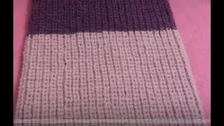 снуд-труба (шарф, хомут) подробно как связать