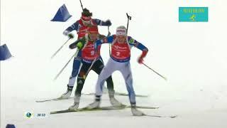 Биатлон. Макарайнен против Дальмайер. Супер финиш/Biathlon. Makarainen vs Dahlmeier