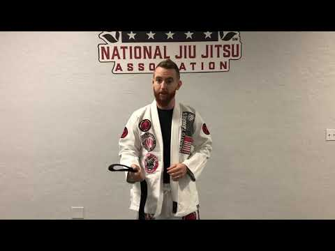 How to Tie the Belt for BJJ