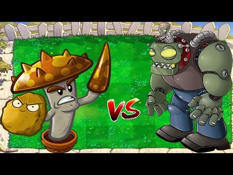 Plants vs Zombies Hack Morelull  Scaredy Shroom vs Dr. Zomboss