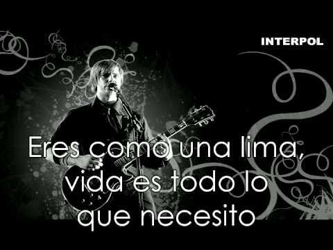 Interpol Song Seven Subtitulada Al Español