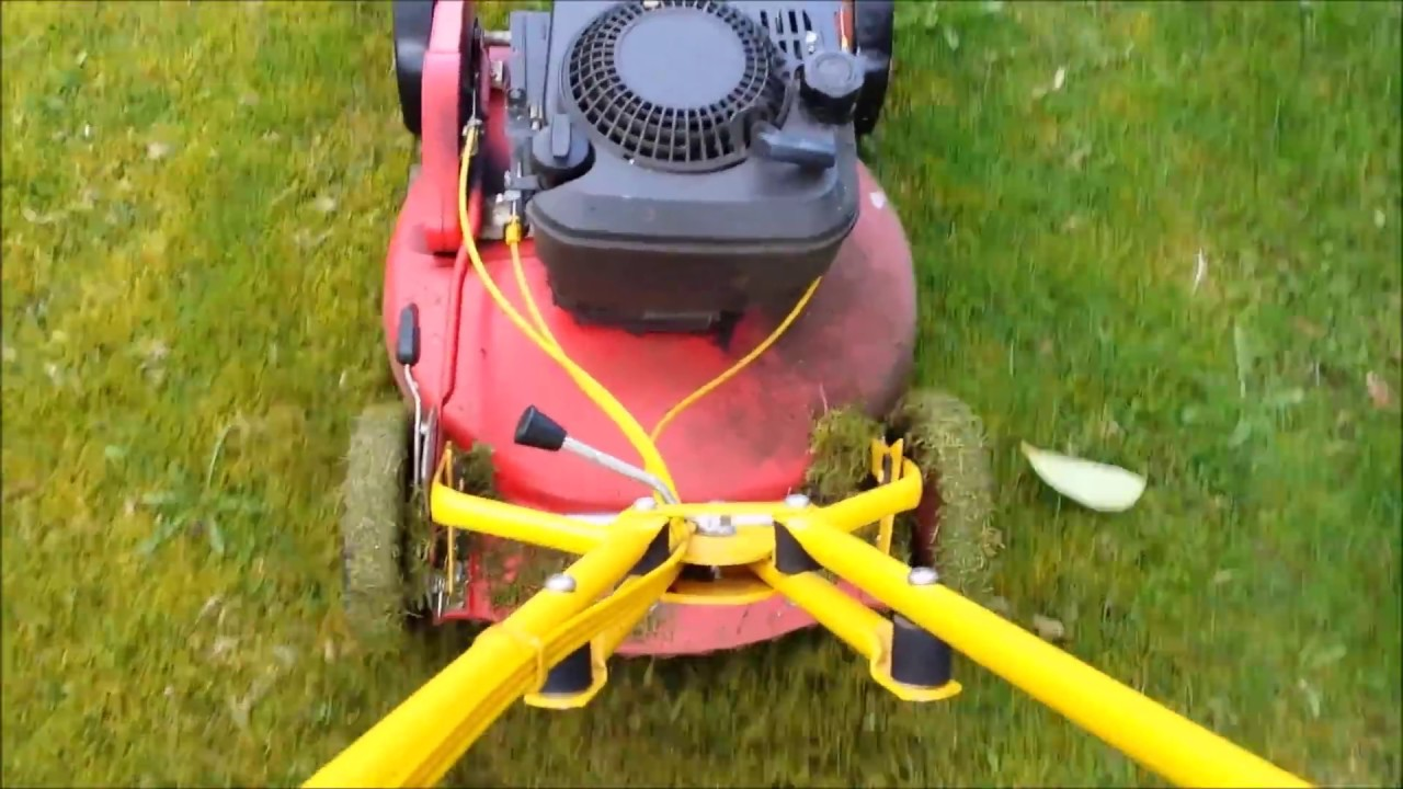 Klippo Lawn Mower Removal Of Moss With Dethatcher Blades