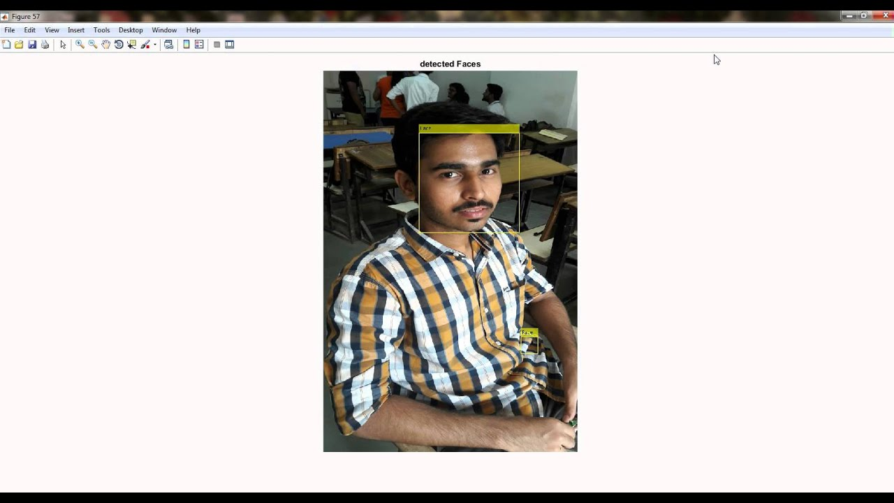 face detection, crop, resize and save into desired location using matlab