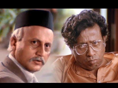 Anupan Kher & Nilu Phule In Superhit Scene - Saaransh - Best ANupam Kher Scene