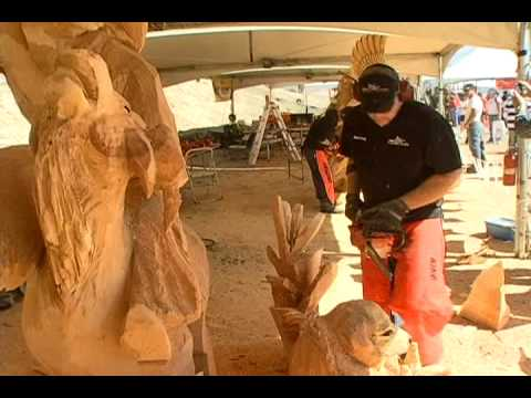 Artists Adding Character to Wood Sculptures - Saturday, October 3, 3pm-5pm