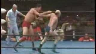 Giant Baba vs. Verne Gagne, 1/18/81 (Part 3)