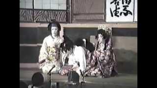 ■子供歌舞伎 戦国物語 木之下蔭梜間合戦 呰之場 一幕