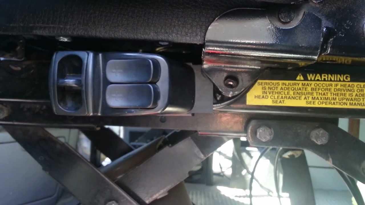 BOSTROM Full Seat Restore 7 Driver Seat Install