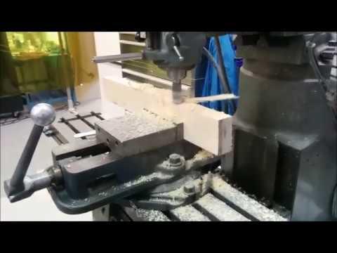 Organic high density foam milling with power feed