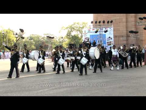 Musical performance by Srilanka Air Force Band on IAF