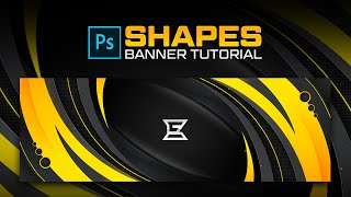 How To Create Shapes Banner - Tutorial By Edwarddzn