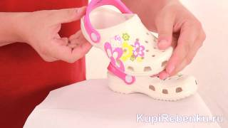 Hello Kitty. Обувь CROCS Kids(, 2011-08-09T13:18:44.000Z)