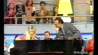 Paola Massari Intervista con Pippo Baudo + Medley di Baglioni By Francy