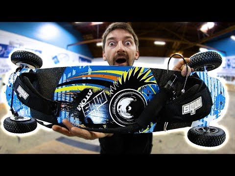 THE CRAZIEST MOUNTAIN BOARD OF ALL TIME!?