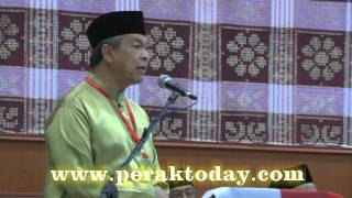 Tepis Rasa Benci Sesama Sendiri Dalam Politik Zahid Hamidi
