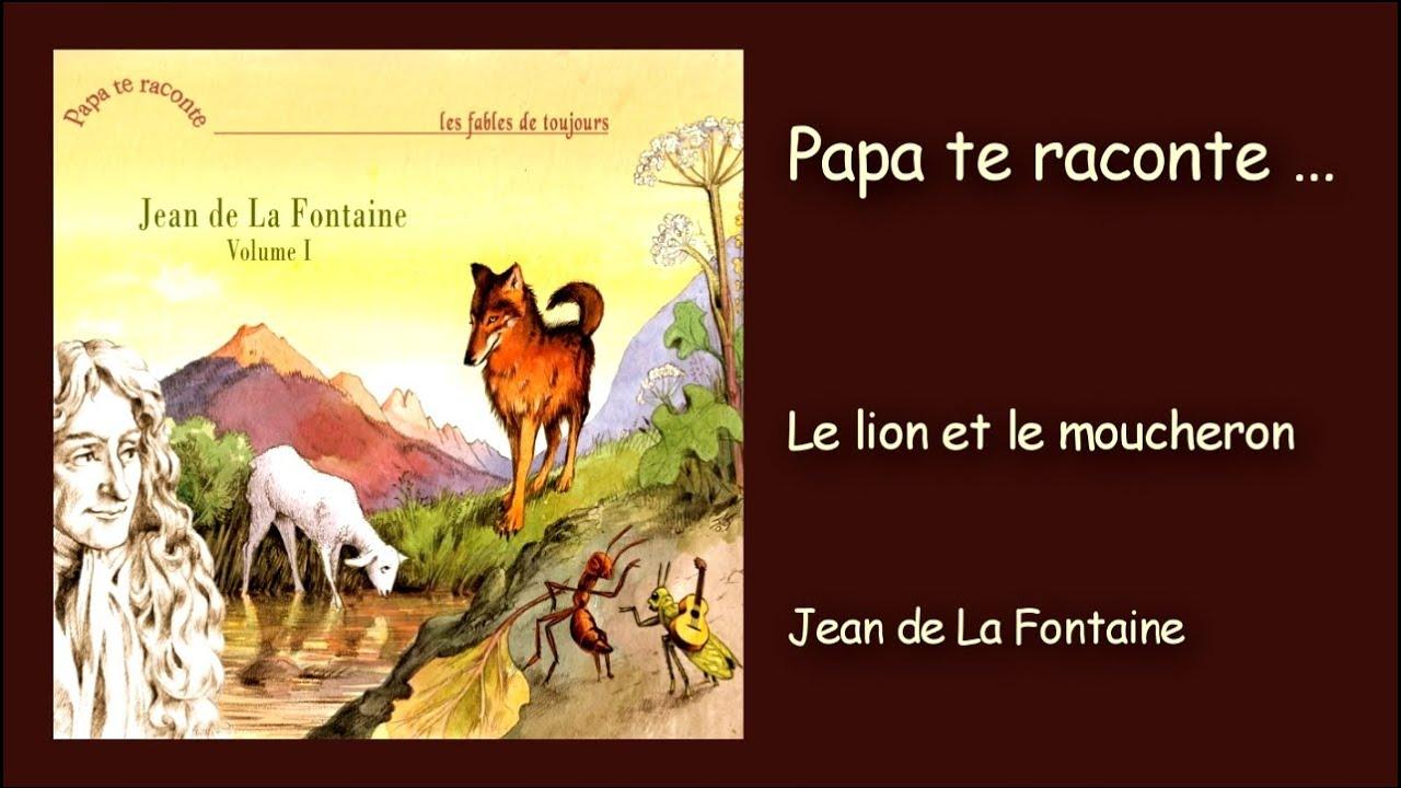 Extrêmement Jean de la Fontaine - Le lion et le moucheron - YouTube UB02
