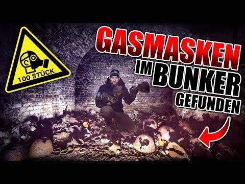 100 GASMASKEN im BUNKER auf MILITÄR LOST PLACE gefunden | Fritz Meinecke