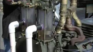 Alternative Fuel Generator, twin vertical geet reactor