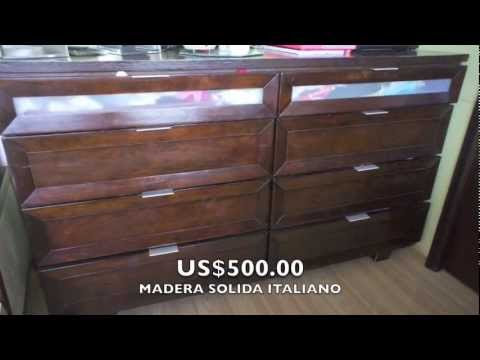 Remate de muebles italianos youtube for Muebles modulares italianos
