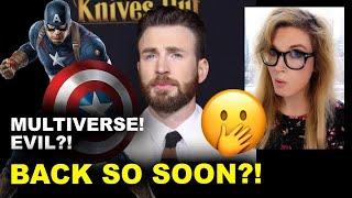 Chris Evans Returns as Captain America!