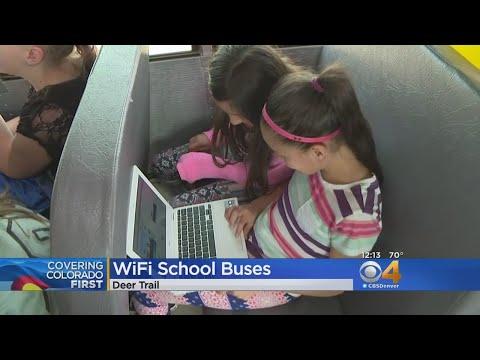 Wifi On Rural School Buses Aims To Close Homework Gap