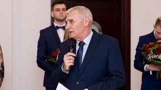 Studniówka LO Kopernika 2019 - wystąpienie dyrektora
