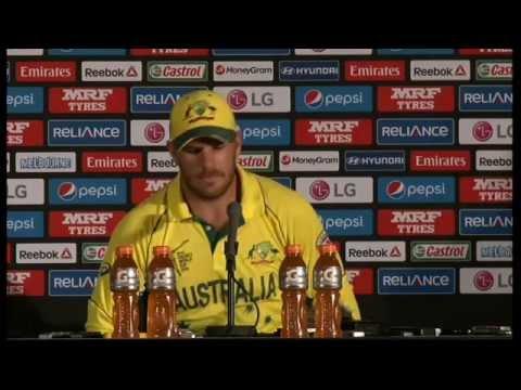 Live Post Match Press Conference England v Australia