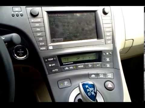 An Australian using voice recognition in an American market Toyota Prius