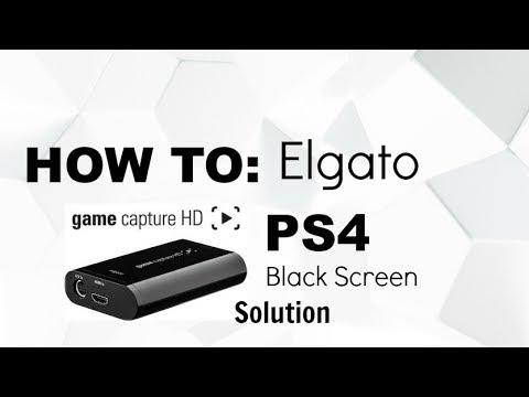 HOW TO FIX BLACK SCREEN | Elgato Game Capture
