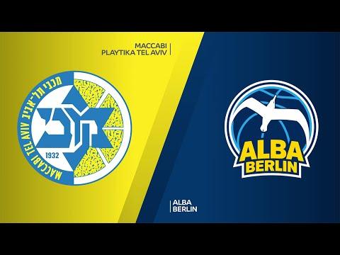 Maccabi Playtika Tel Aviv - ALBA Berlin  Highlights | Turkish Airlines EuroLeague, RS Round 1