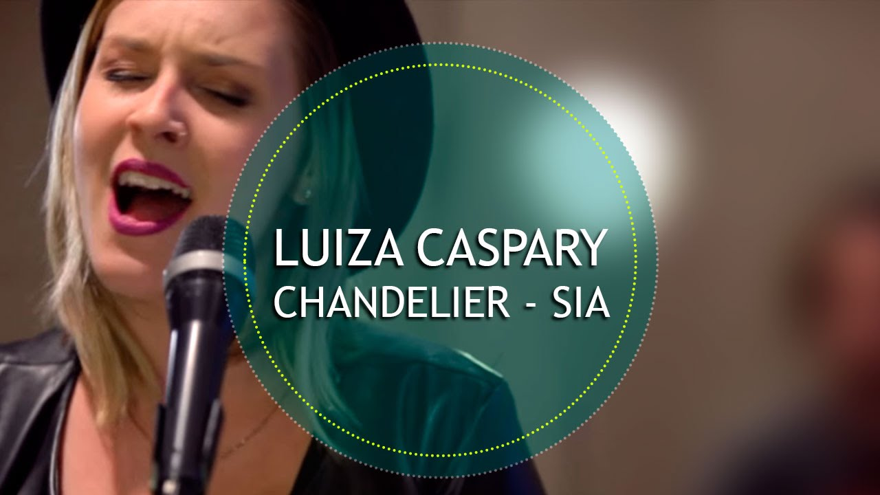 ♫ CHANDELIER ♫ - Sia (Reggae Cover) | Luiza Caspary - YouTube