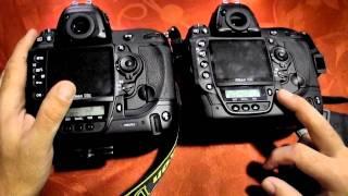 Nikon D3x vs D3s - hands on review (NEW)