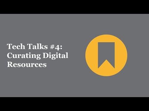 EdRising at Rio - Tech Talk #4: Curating Digital Resources