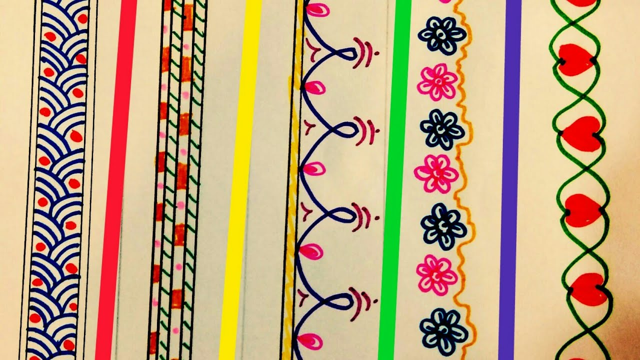 border designs for school projects