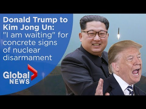 WATCH LIVE: President Trump explains cancellation of North Korea summit