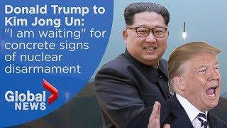 President Trump explains cancellation of North Korea summit