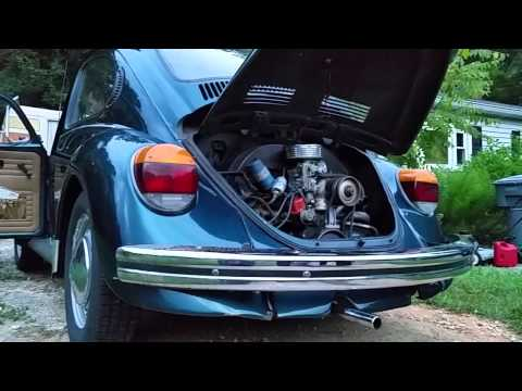 1973 VW Super Beetle idle problems