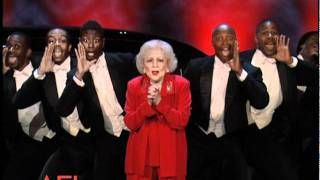 Betty White Surprises Morgan Freeman at the 39th AFI Life Achievement Award streaming