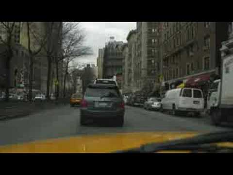 A New York City Cab Ride from 158th St and Broadway to 12th St and 7th  Avenue