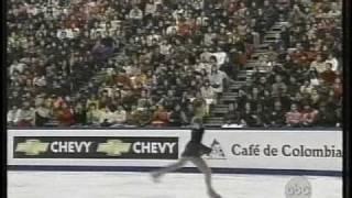 Fumie Suguri 村主 章枝 (JPN) - 2002 World Figure Skating Championships, Ladies' Free Skate 村主章枝 検索動画 15