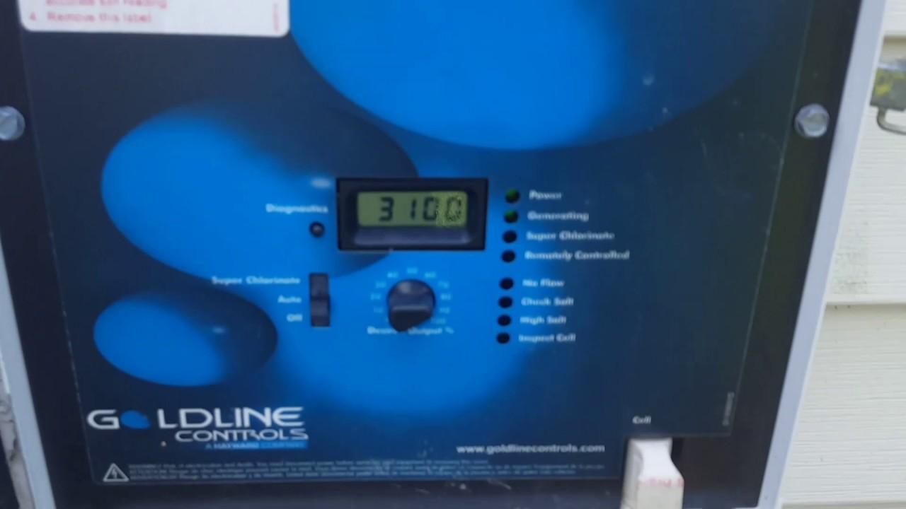 One Minute Fix No Flow On Aqua Rite Hayward Salt Generator