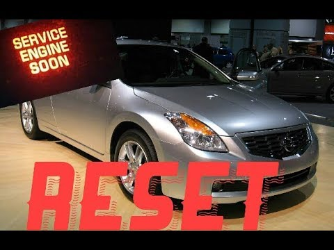 How To Reset Service Engine Soon Light On A 2009 Nissan Altima