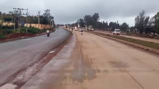 HUBLI DHARWAD BRTS Progress 6way Road