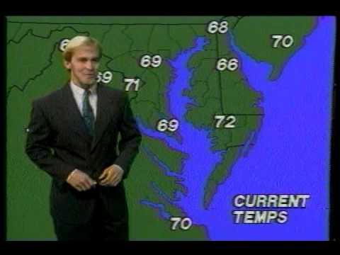 Mike Seidel WBOC-TV Putting the Forecast Together 1990