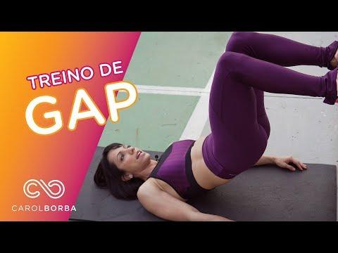 Treino diferente de GAP - Carol Borba