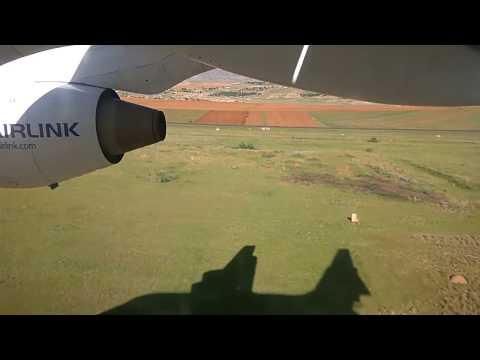 Landing in Maseru | Avro RJ85
