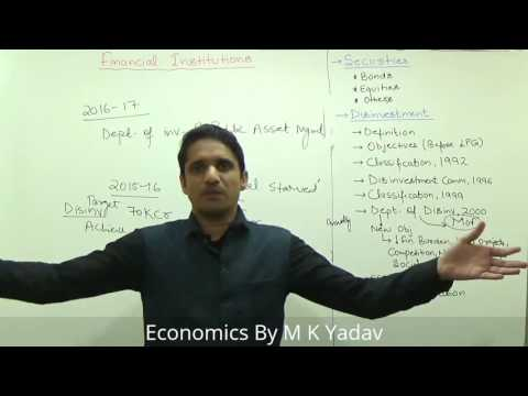 (1/2)Disinvestment of PSU's | DIPAM | NIF Explained by M K Yadav
